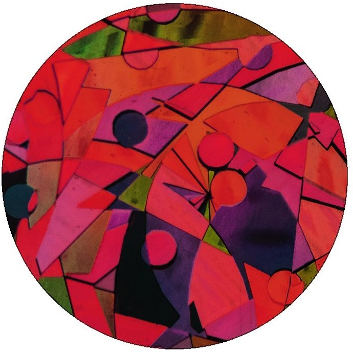 Abstract Art Pinback Buttons and Stickers