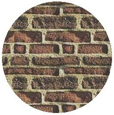 Brick Background Pinback Buttons and Stickers