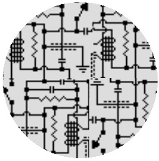 Circuits Pinback Buttons and Stickers
