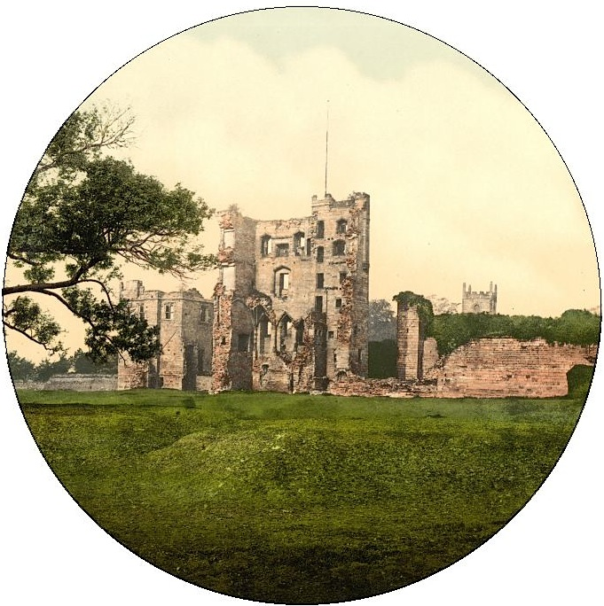 Ashby Castle Pinback Button and Stickers