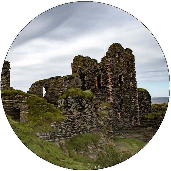 Sinclair Castle Pinback Button and Stickers