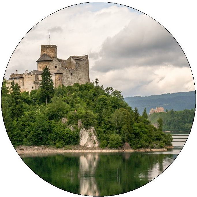 Zemak Castle Pinback Button and Stickers