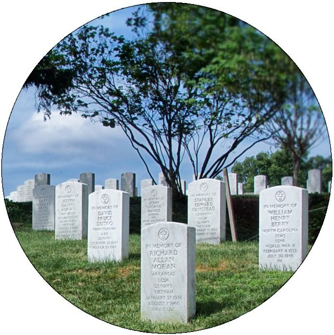 Arlington Cemetery Pinback Buttons and Stickers