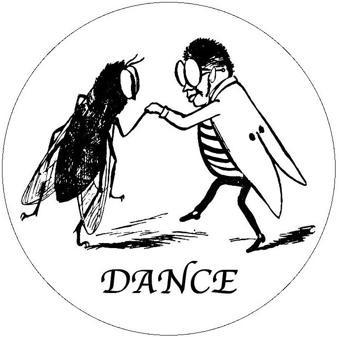 Dance Pinback Buttons and Stickers