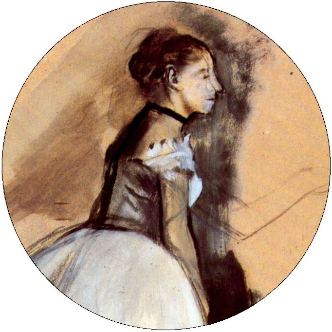 Edgar Degas Dance Pinback Buttons and Stickers