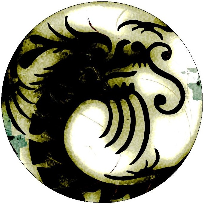 Dragon Pinback Buttons and Stickers