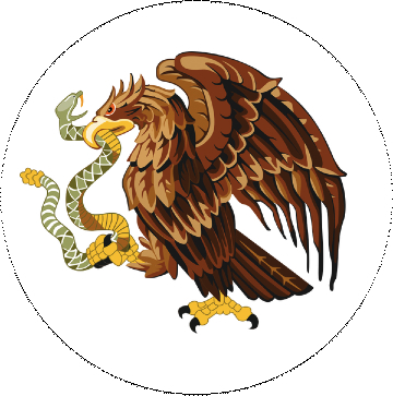 Eagle with Snake Pinback Buttons and Stickers