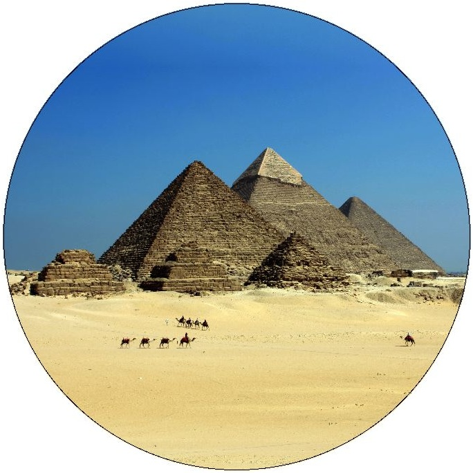 Great Pyramids Pinback Buttons and Stickers