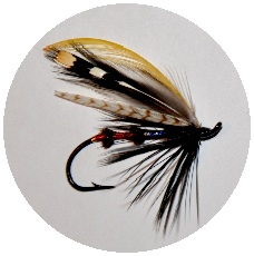 Fly Tying Pinback Buttons and Stickers