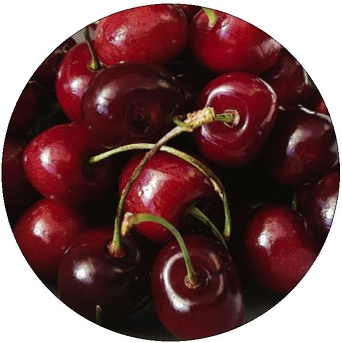 Cherries Pinback Buttons and Stickers