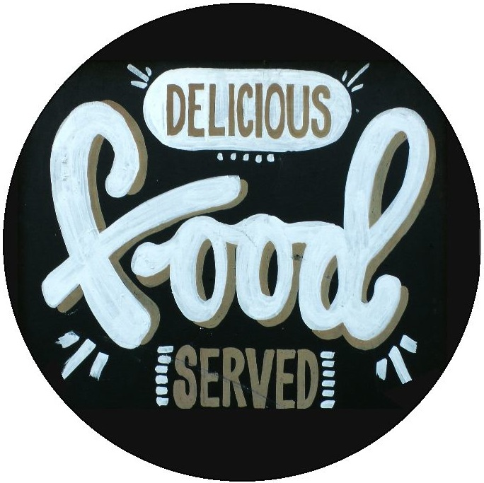 Delicious Food Pinback Buttons and Stickers