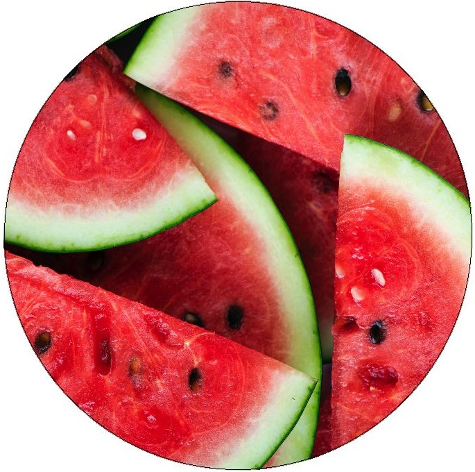 Watermelon Pinback Buttons and Stickers