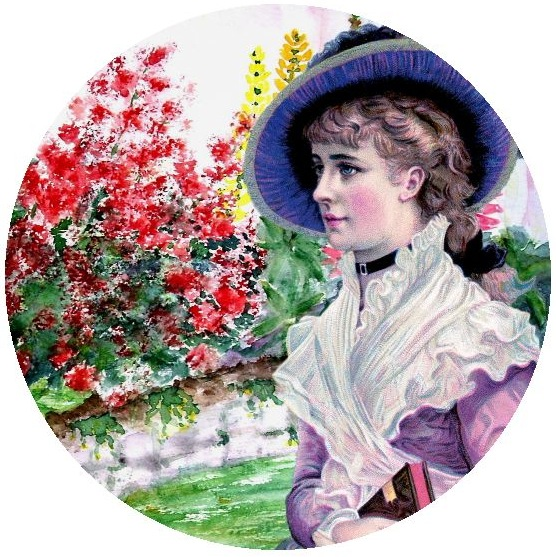 Beautiful Girl Pinback Buttons