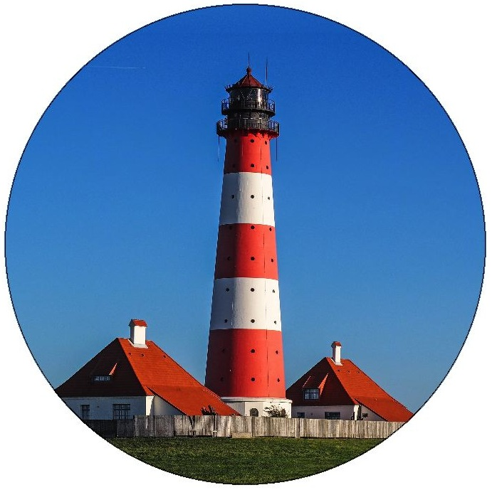 Lighthouse Pinback Buttons and Stickers