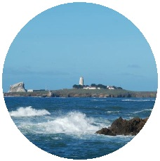 Lighthouse Pinback Button