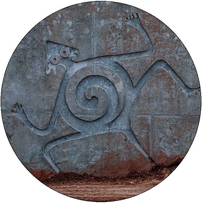 Petroglyph Pinback Buttons and Stickers