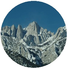 Mount Whitney Pinback Buttons and Stickers