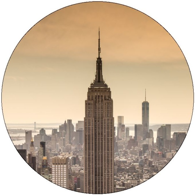 New York City Pinback Buttons and Stickers