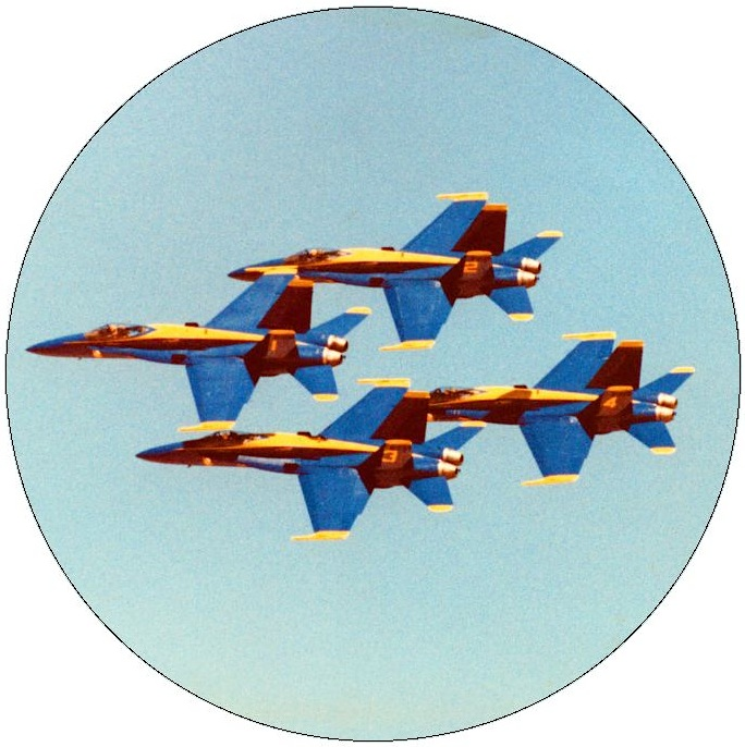 Blue Angels Pinback Button and Sticker