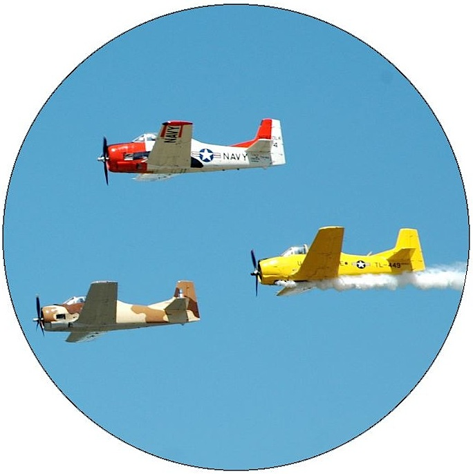 Plane Pinback Button and Stickers