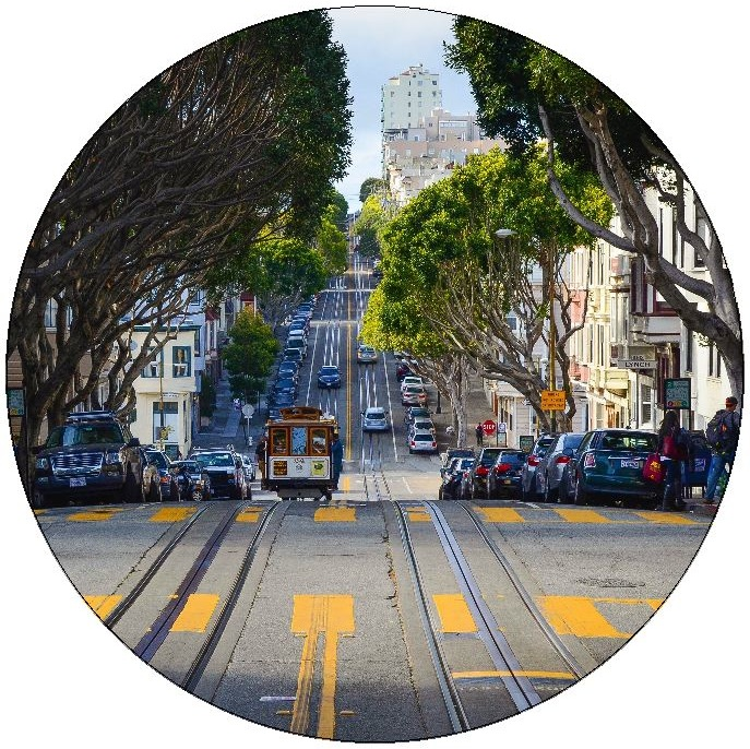 San Francisco Pinback Buttons and Stickers