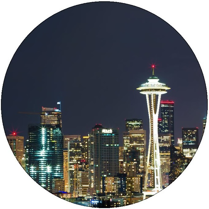 Seattle Washington Pinback Buttons and Stickers