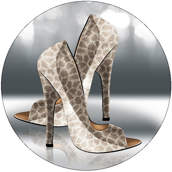 Shoe, Boots, and High Heel Pinback Buttons and Stickers