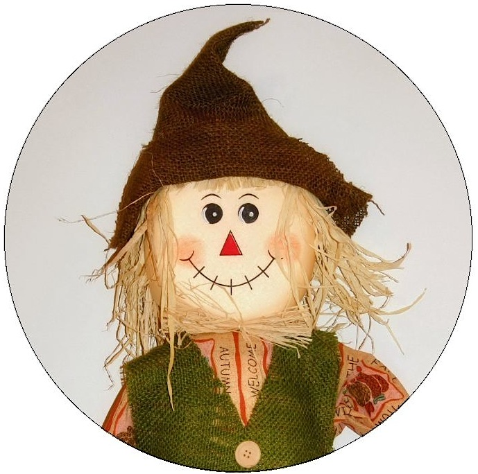 Scarecrow Pinback Buttons and Stickers