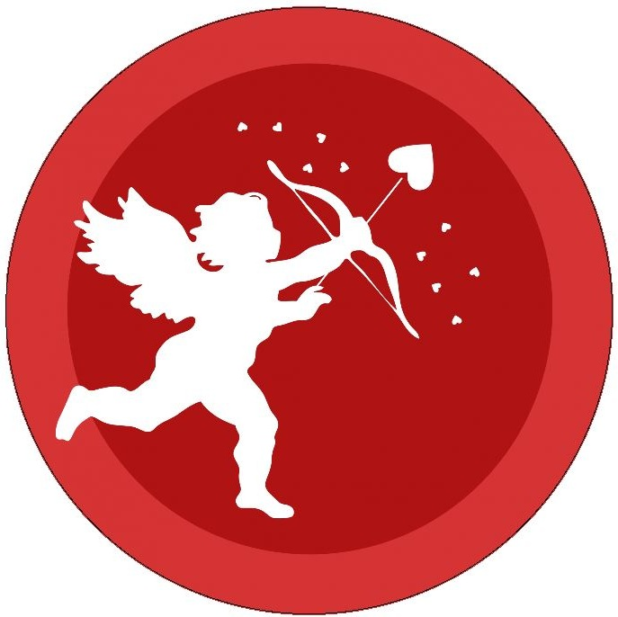 Cupid Pinback Buttons and Stickers