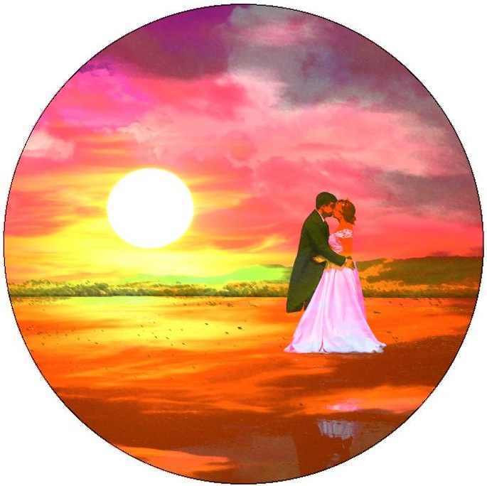 Romance Background Pinback Buttons and Stickers
