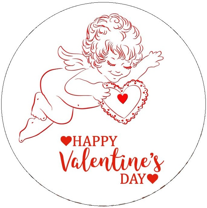 Valentine Background Pinback Buttons and Stickers